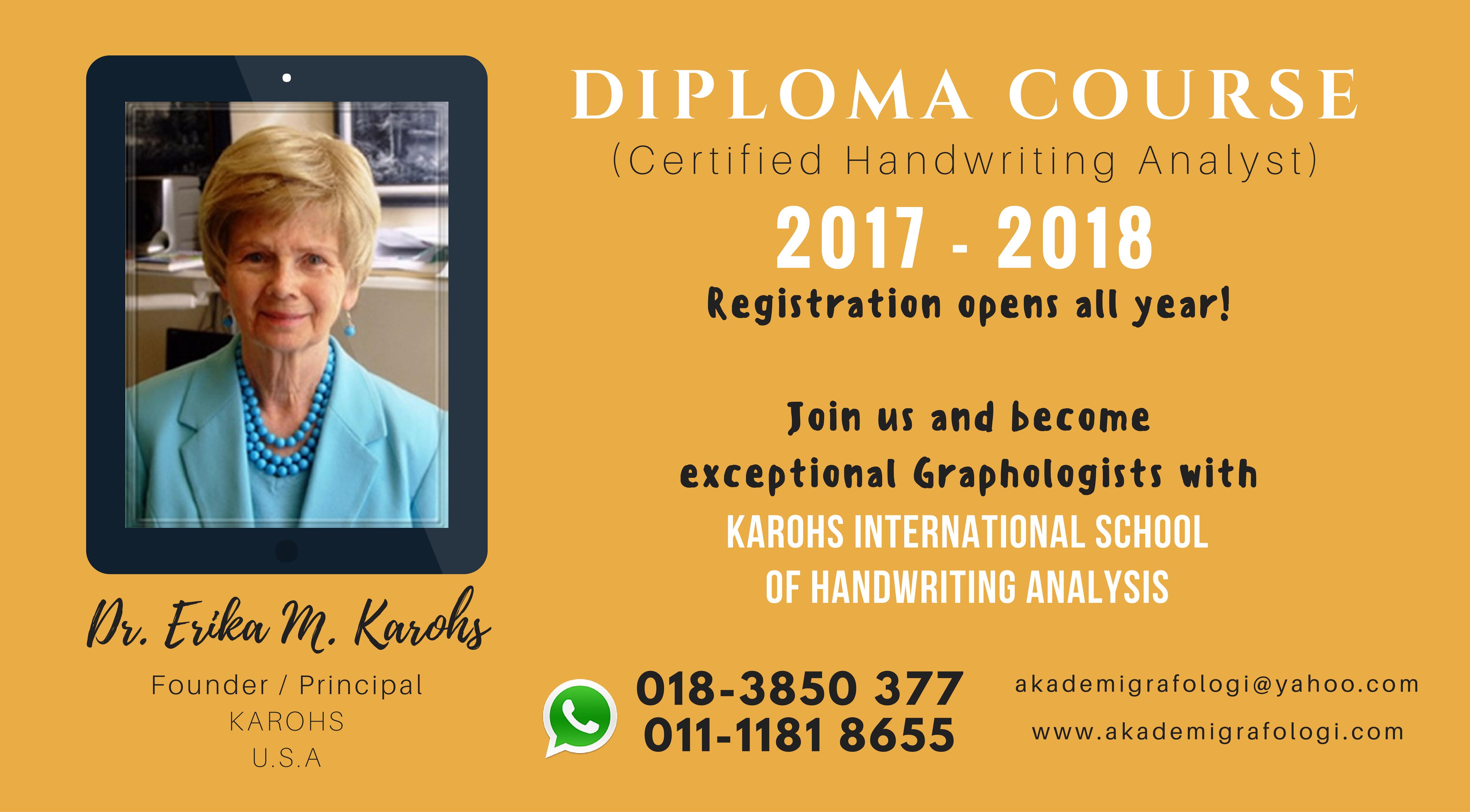 Diploma Course 2017-2018 fb