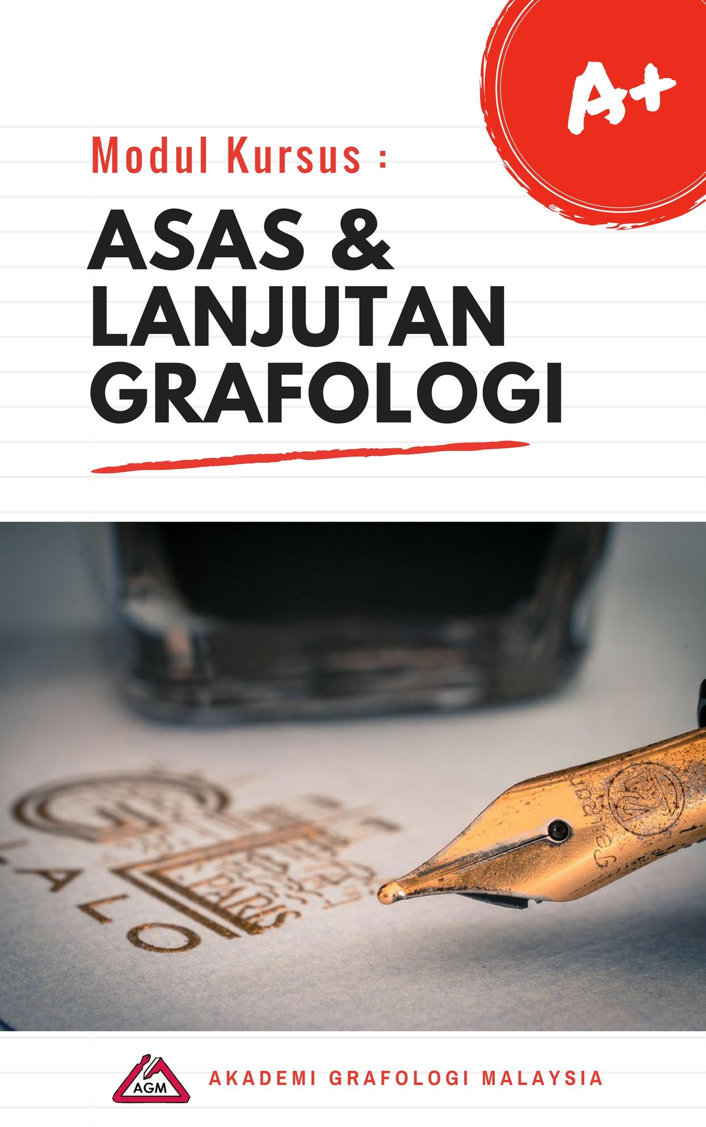 Modul Kursus Asas & Lanjutan Grafologi