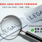 Bengkel Asas Grafo-Forensik (Jun 2018) 2